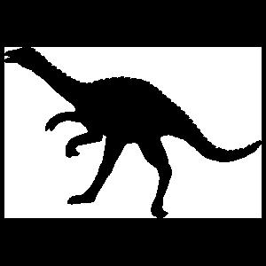 Ornithomimus Dinosaur Sticker