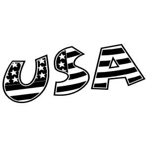 Cute Patriotic Usa Sticker
