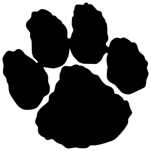 One Paw Print Sticker