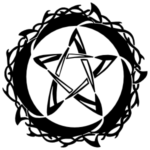 Pentagram Star Sticker