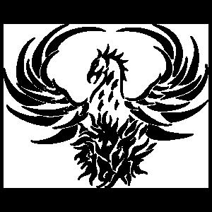Pheonix Dragon Sticker