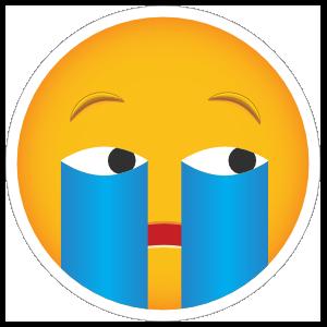 Phone Emoji Sticker Cry Me a River