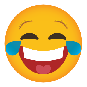 Phone Emoji Sticker Laughing Out Loud