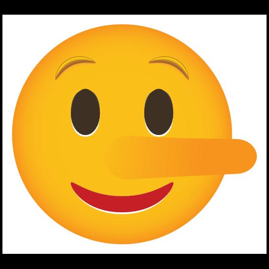 Phone Emoji Sticker Pinocchio
