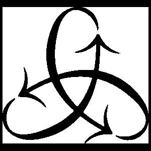 Pi Beta Phi Foundation Logomark Sticker