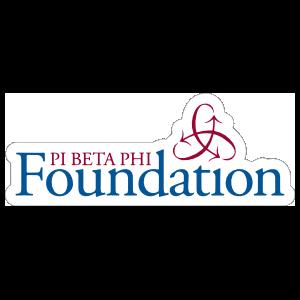 Pi Beta Phi Foundation Sticker
