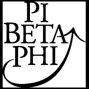 Pi Beta Phi One Color Logo Sticker