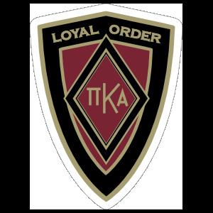 a2977109 Pi Kappa Alpha Foundation Support Shield Sticker