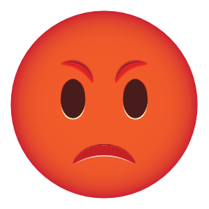 Pissed Off Phone Emoji Sticker