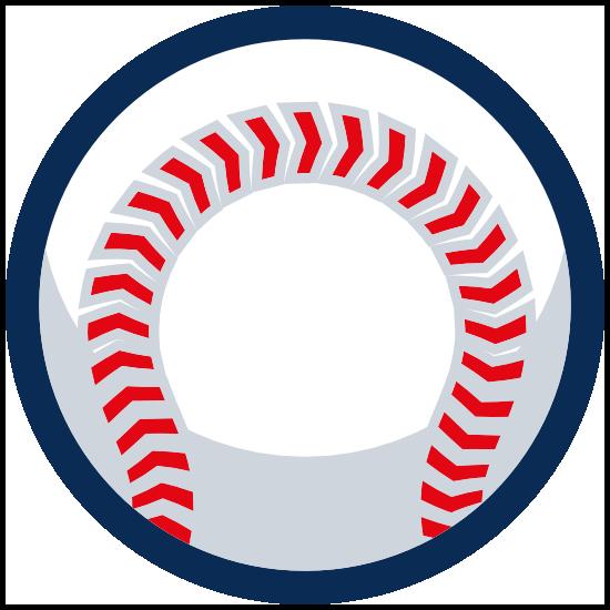 Pitching Seams Up Baseball Sticker