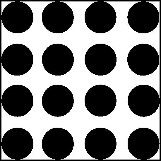 Polka Dot Circle Shapes Sticker