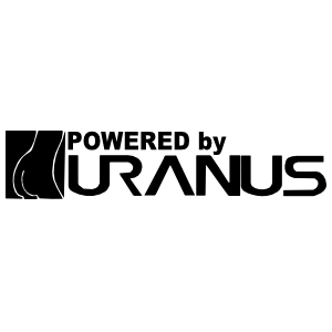 Powered By Uranus Sticker