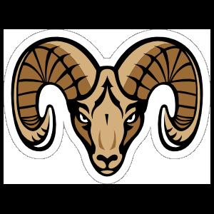 Ram Mascot Sticker