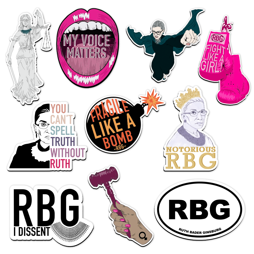 The Notorious RBG Collection - Magnet Bundle