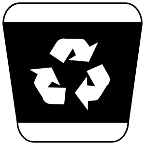 Recycle Bin Sticker