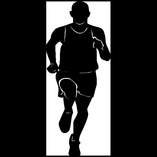Relay Racer Sticker