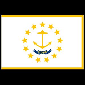 Rhode Island Ri State Flag Magnet