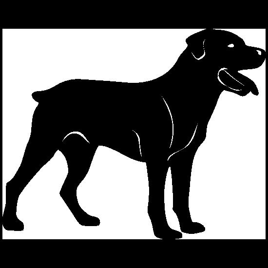 Rottweiler Dog Sticker