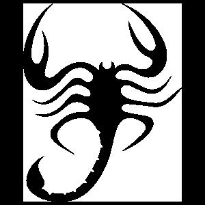 Wavy Scorpion Sticker