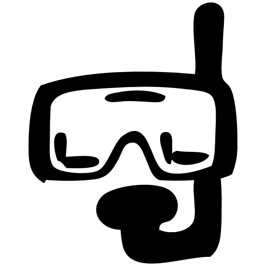 Scuba Diving Gear Sticker