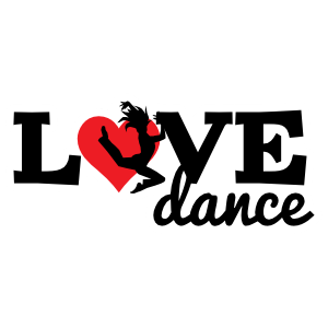 Side Jumping Love Dance Sticker