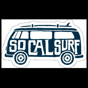 SO Cal Surf Surfing Sticker