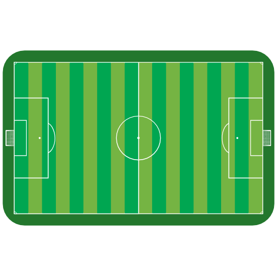 Soccer Field Sticker