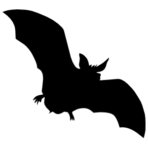 Spooky Bat Sticker