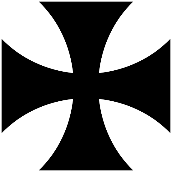 Iron Cross Car Sticker Black Vinyl Decal choose size 2/'/' 3/'/' 6/'/' 8/'/' 22/'/'