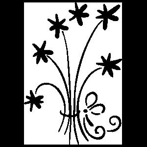 Star Bouque Sticker
