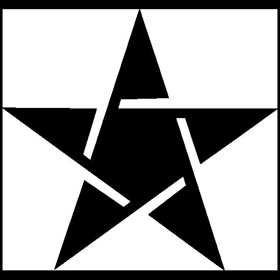 Spirited Star Sticker