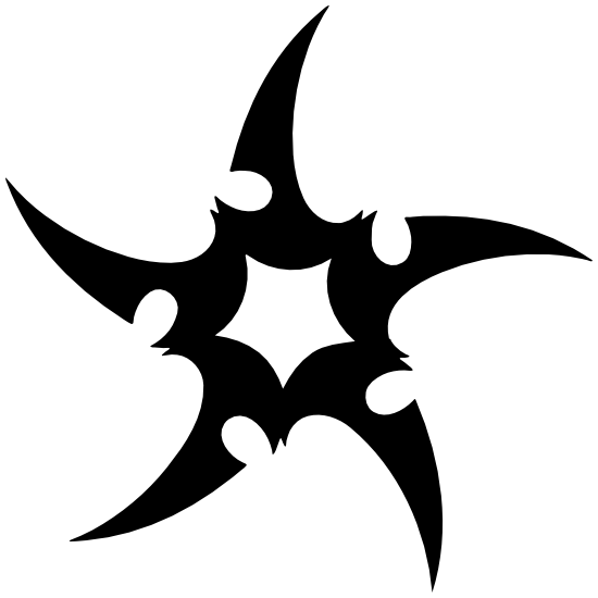 Swiveled Star Sticker