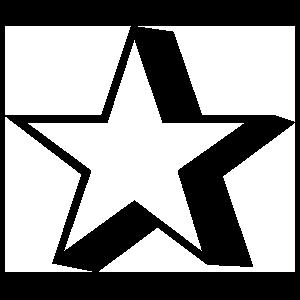 Popping Star Sticker