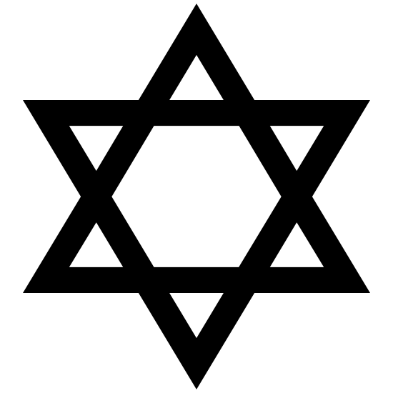 Judaism Star Of David Sticker