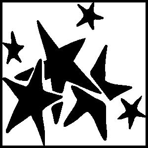 Seven Stars Cluster Sticker