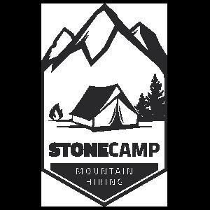 Stone Camp Camping Sticker