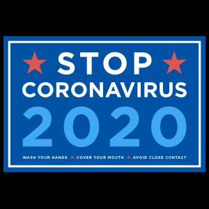 Stop Coronavirus 2020 Sticker