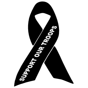 Support Our Troops Ribbon