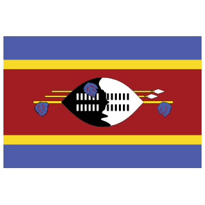 Swaziland Flag Sticker