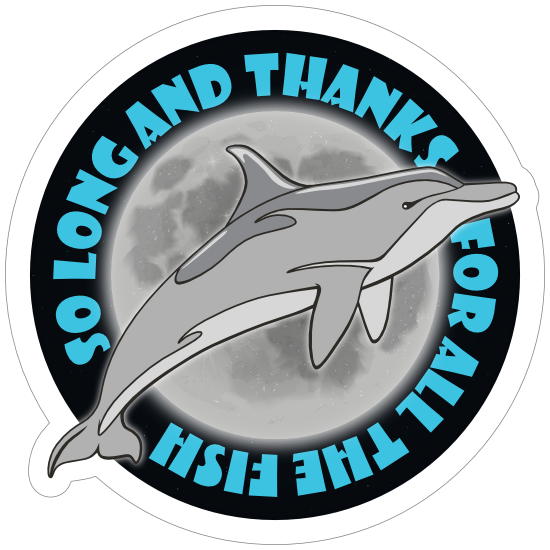 Thanks for all the Fish Sticker