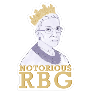 The Notorious RBG Sticker