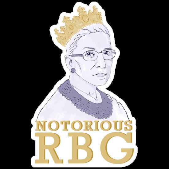 The Notorious RBG Sticker