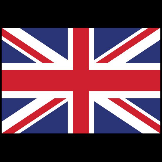 The United Kingdom Flag Sticker