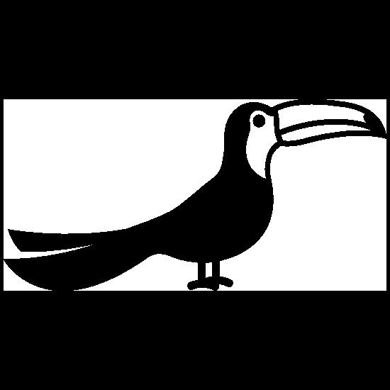 Detailed Toucan Sticker