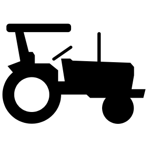 Cool Tractor Sticker