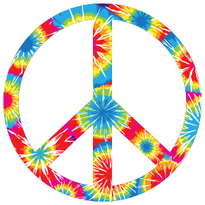 Trippy Peace Sign