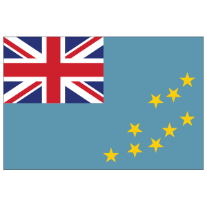 Tuvalu Country Flag Sticker