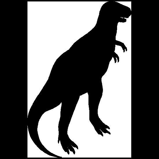 Tyrannosaurus Rex Dinosaur Standing Sticker