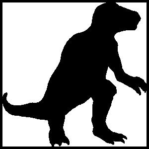 Tyrannosaurus Rex Dinosaur Sticker