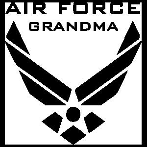 US Air Force Logo Grandma Sticker